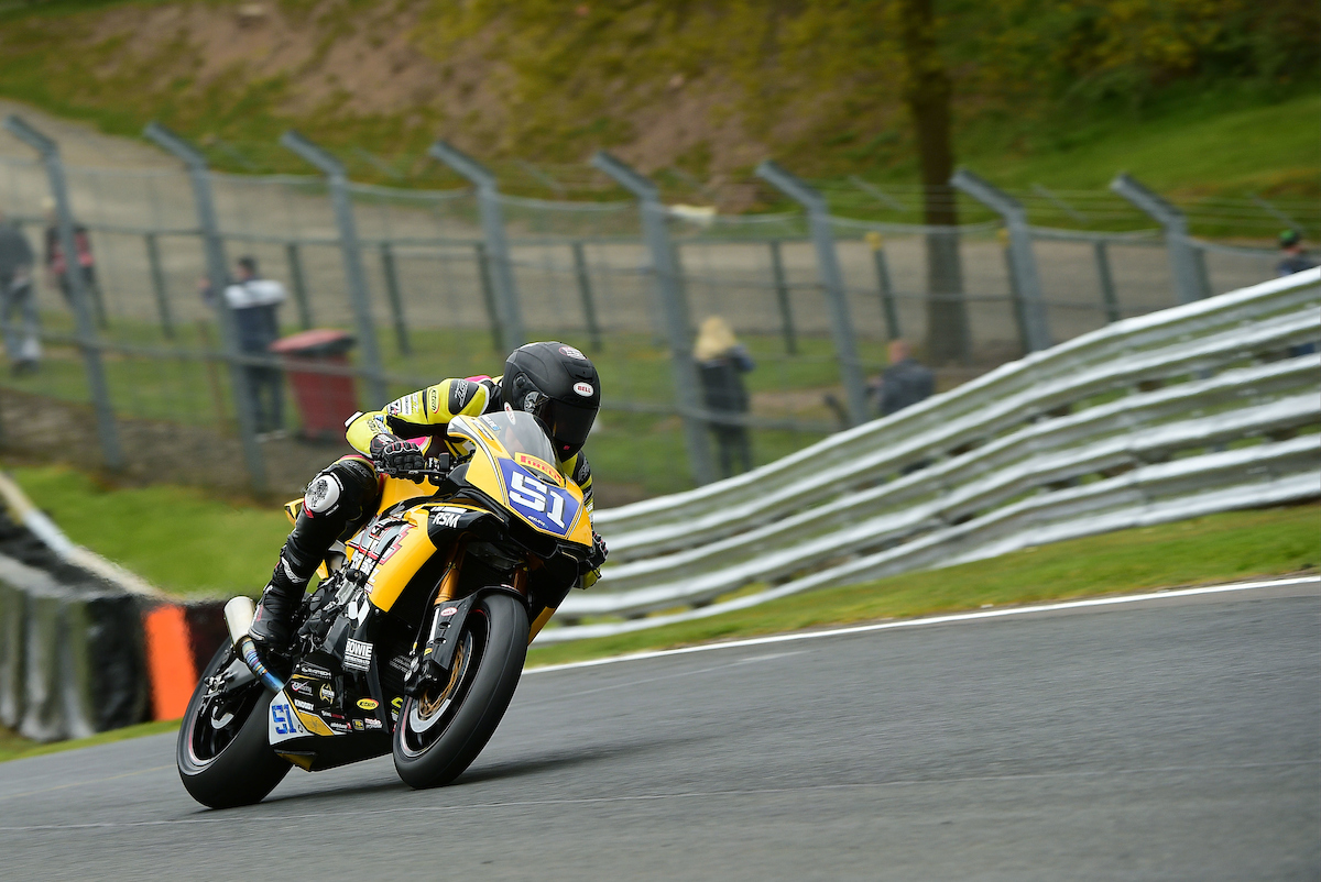 R3 Oulton Park MCE British Superbike Championship
